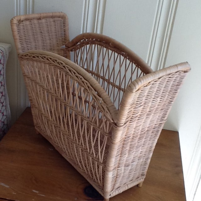 Natural Wicker File Basket - Image 8 of 8