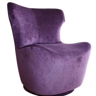 Decenni Purple Pico Swivel Chair