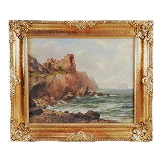 Scottish Seascape Painting by John Milne Donald