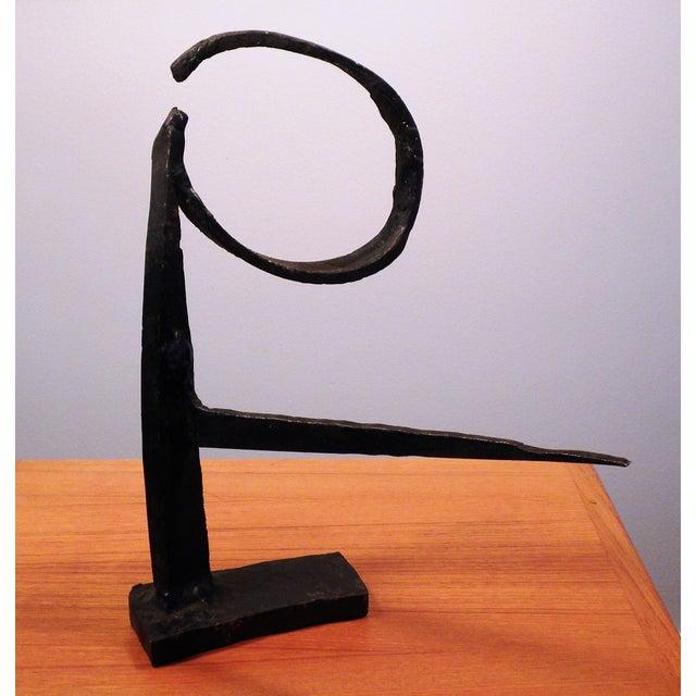 Image of Palombo Mid Century Iron Sculpture