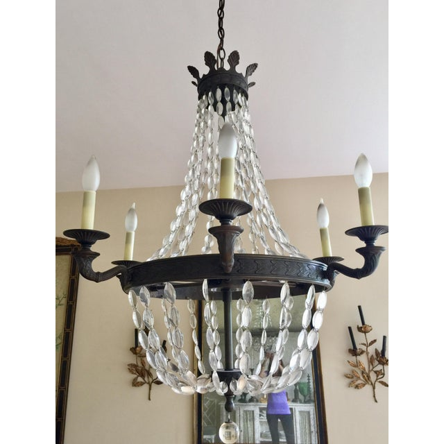 Image of Empire-Style Chandelier