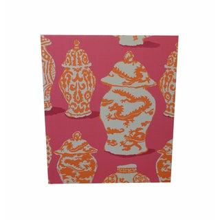 Ginger Jar Pink Cork Board
