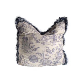 French Toile Pillow