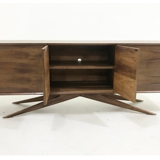 Brass Accent Credenza - Image 5 of 6