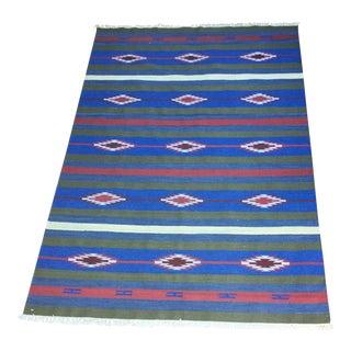 Native American Style Rug - 6″ × 9″