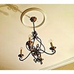 Image of Abc Carpet & Home Bronze Chandelier