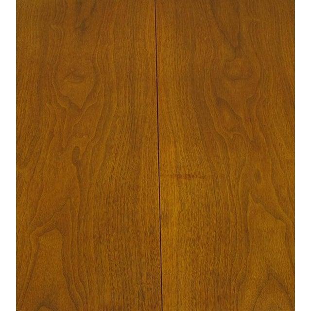 Sleek Modern Walnut Dining Table in the Style of T.H. Robsjohn-Gibbings - Image 7 of 7