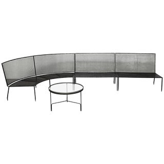 Set of Mathieu Mategot Sofa and Coffee Table, circa 1950