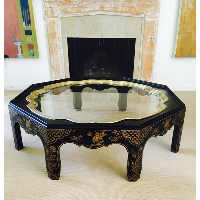 Vintage Baker Coffee Tables: Vintage Baker Chinoiserie Coffee Table