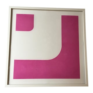 Pink Geo Print