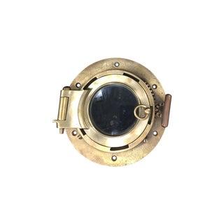 Vintage Brass Ship Porthole