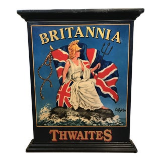 English C. Highton Thwaites Brittania Pub Sign