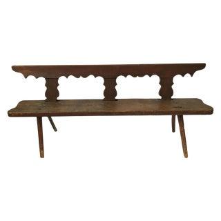 American Primitive Rustic Bench