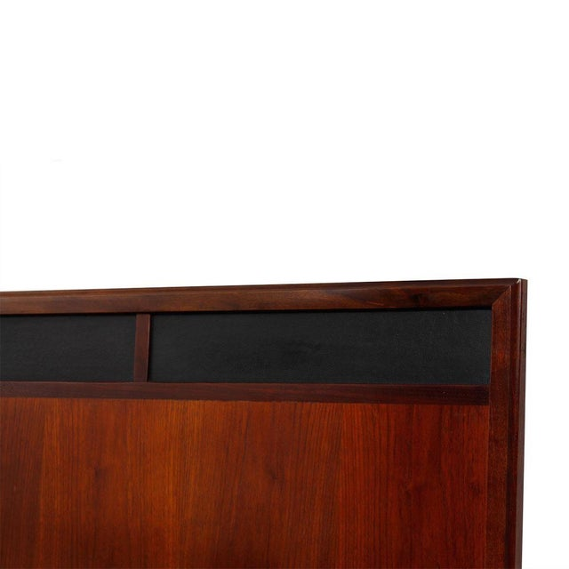 Mid Century Walnut 12-Drawer Dresser / Credenza - Image 8 of 9