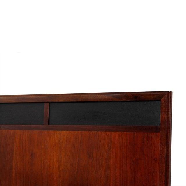 Image of Mid Century Walnut 12-Drawer Dresser / Credenza