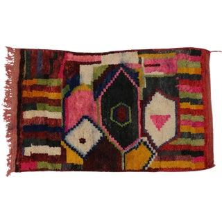 Boho Chic Berber Moroccan Rug - 5'1 x 7'11