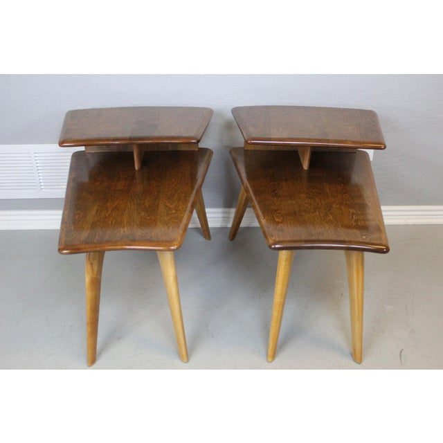Image of Heywood-Wakefield End Tables - A Pair