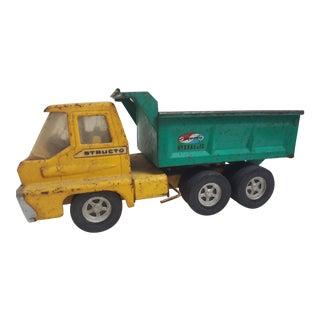 Vintage Dump Truck Tin Toy
