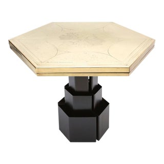 Christian Heckscher Hexagonal Table