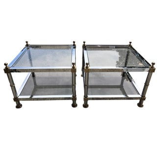 Maison Jansen Style Side Tables - A Pair