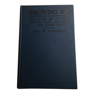 'Growing Up' Vintage Book