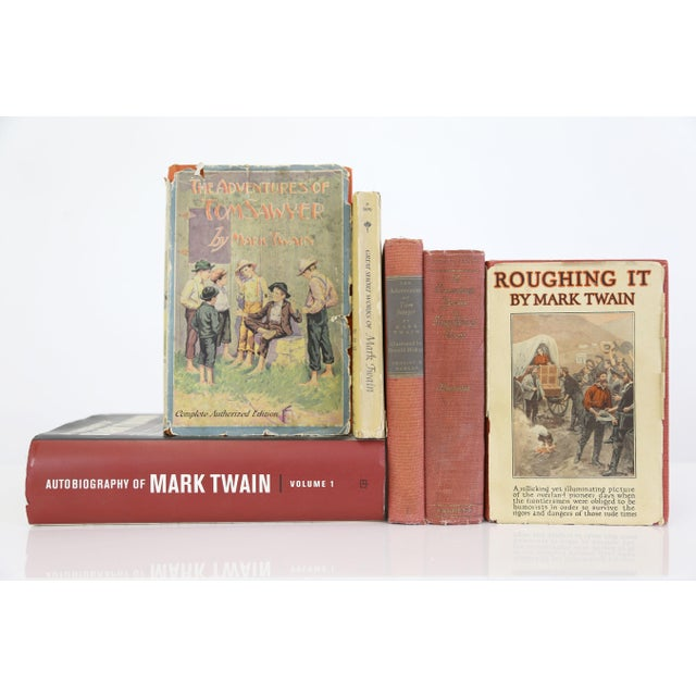 Mark Twain Books, Antique to Modern - Set of 6 - Image 2 of 11