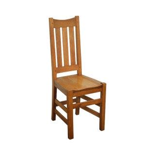 Antique Mission Oak Side Chair