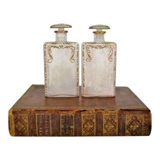 Liquor Bottles & Book Shaped Case - Set of 3