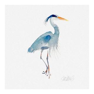 Premium Giclee Print of Blue Heron