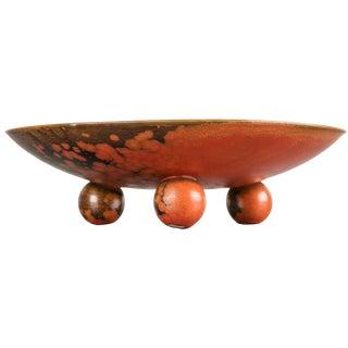 """628 Triennale"" Bowl by Guido Andloviz for S.C.I. Laveno"