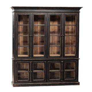 Reclaimed Pine Display Cabinet