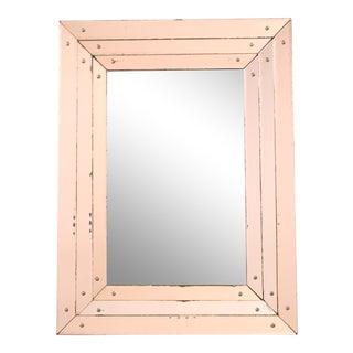 1950s Art Deco Style Glass Mirror