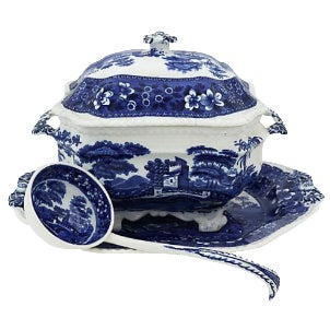 Copeland Spodes Tower Soup Tureen - 3 Pieces