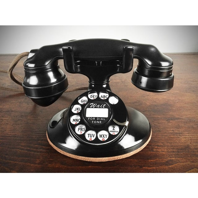 1930s Refurbished Deco Working Telephone - Image 3 of 4