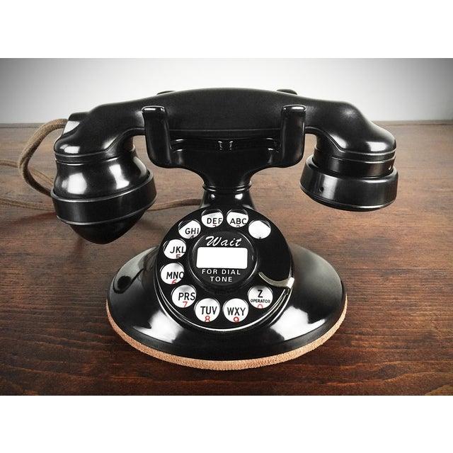 Image of 1930s Refurbished Deco Working Telephone