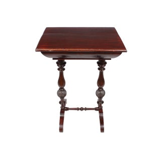 1920s Willam and Mary Revival Side Table