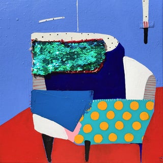 "Kate McCarthy, ""Corner Chair"""