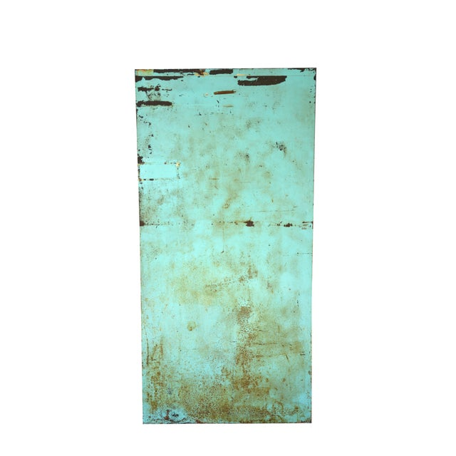 Industrial Turquoise Filing Cabinet - Image 5 of 7