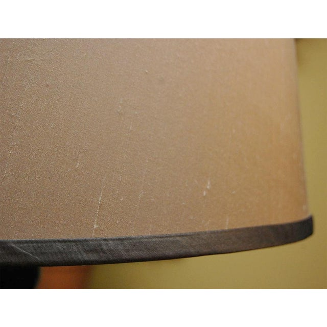 Ghee Black Twist Floor Lamp with Shade - Image 9 of 9