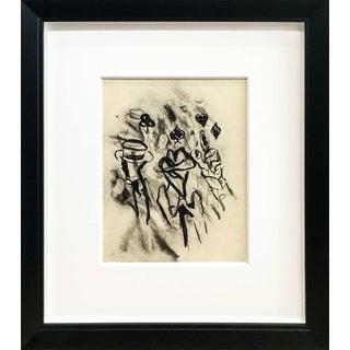 "1988 Willem De Kooning ""Hotel Transylvanie "" Original Lithograph"