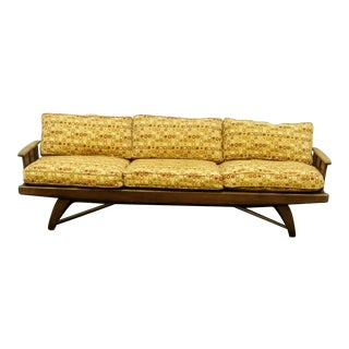 1960s Vintage Adrian Pearsall Sofa in Walnut Wood