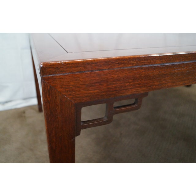 Baker Far East Collection Mahogany Dining Table - Image 4 of 10