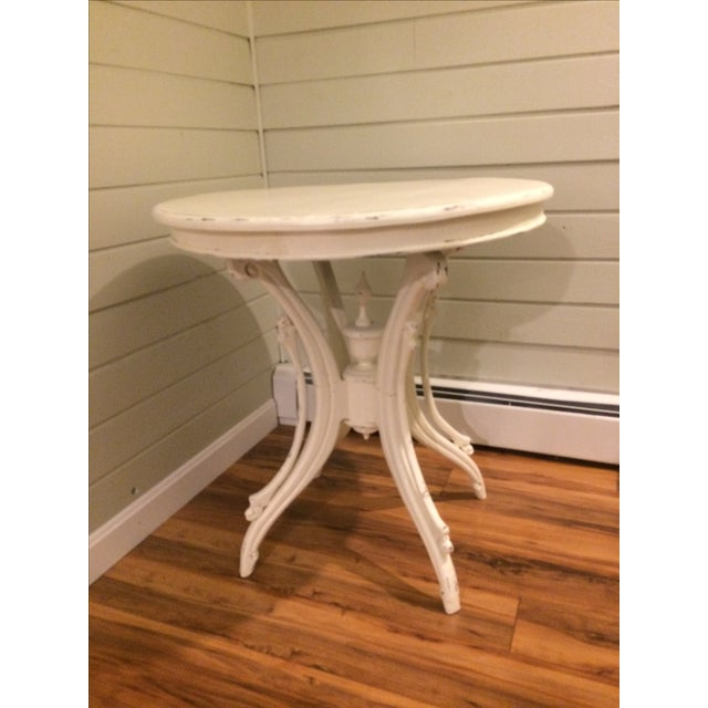 Farmhouse Style Side Table - Image 2 of 4