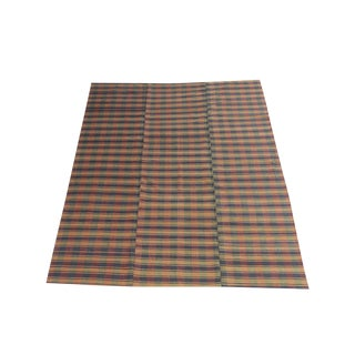 Vintage Turkish Multi Color Handmade Flatweave - 6′ × 8′5″