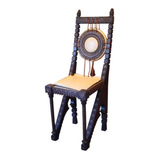 Carlo Bugatti Side Chair
