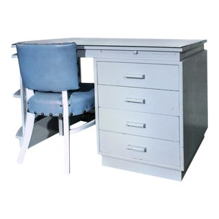 Dunbar Desk & Chair from the Estate of Bing Crosby - A Pair