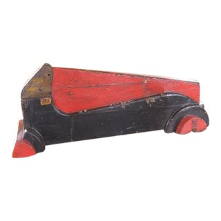 Vintage Wooden Factory Car Mold / Pattern