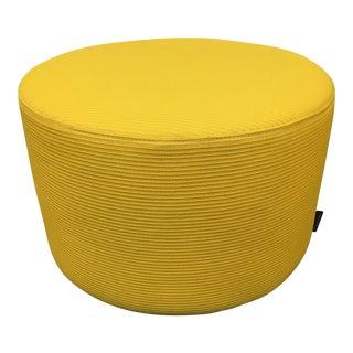 Yellow Turnstone Round Ottoman
