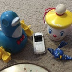 Image of Variety of Old Toys