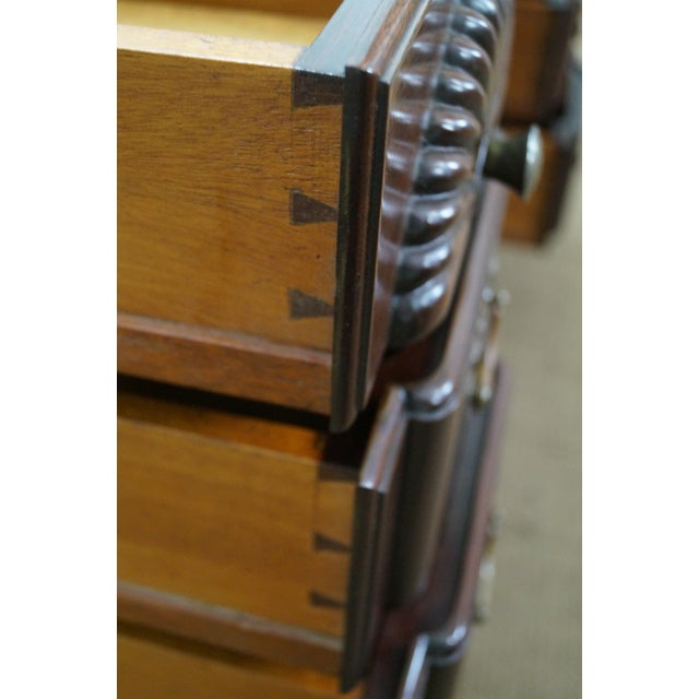 Vintage Mahogany Chippendale Style Writing Desk - Image 5 of 10
